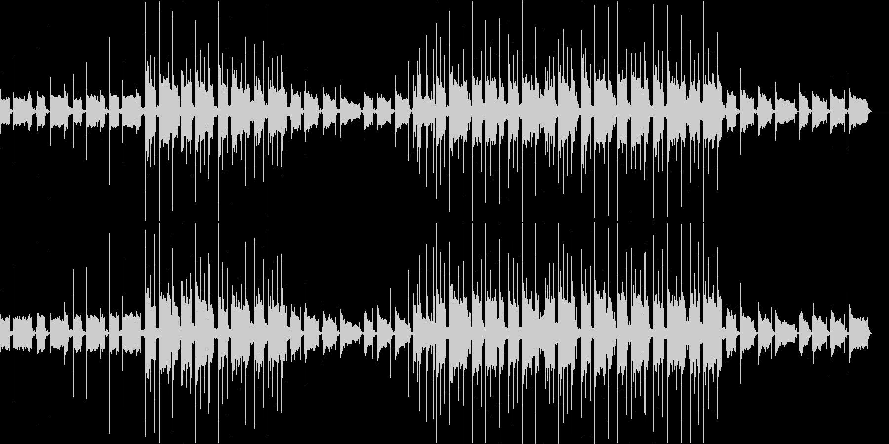 【ピアノ抜・1分】やさしく透明感のギターの未再生の波形