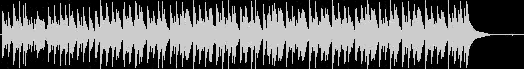 明るくポップな流行コーポレート系BGMの未再生の波形