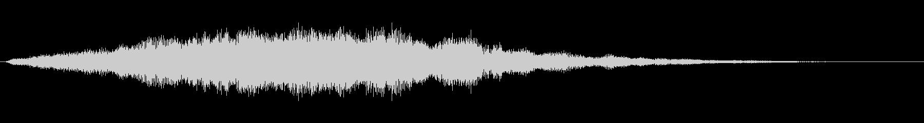 【魔法】キラキラ系効果音【回復】の未再生の波形
