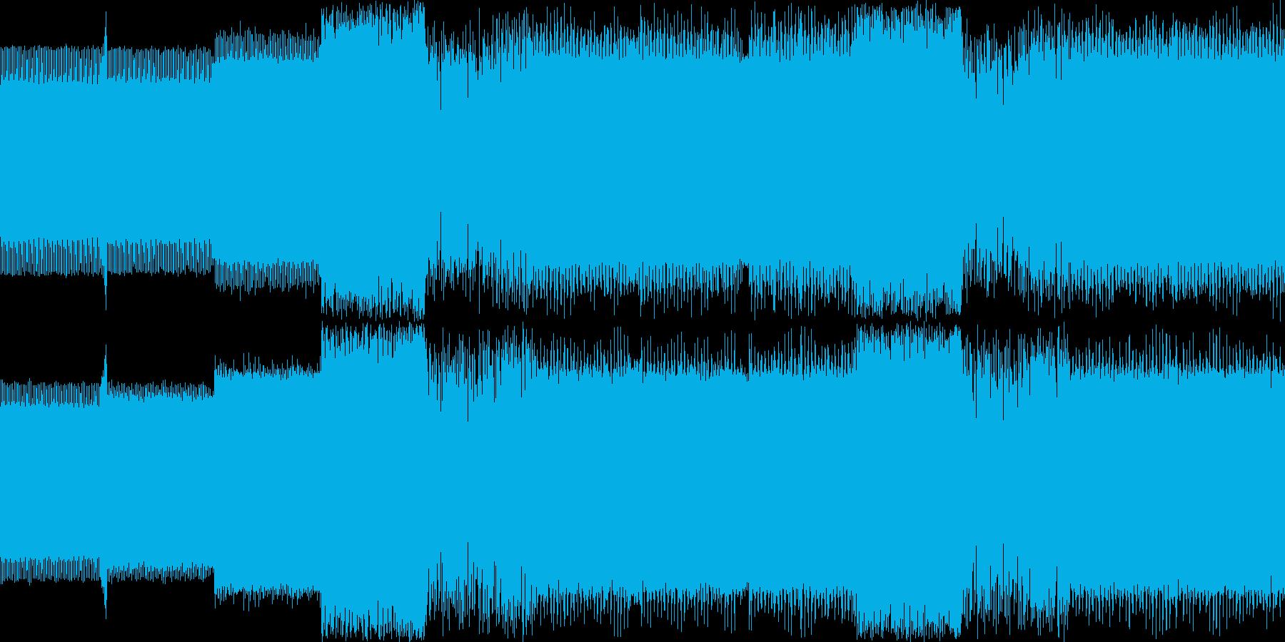 不協和音ボス系の曲<loop仕様> 【…の再生済みの波形