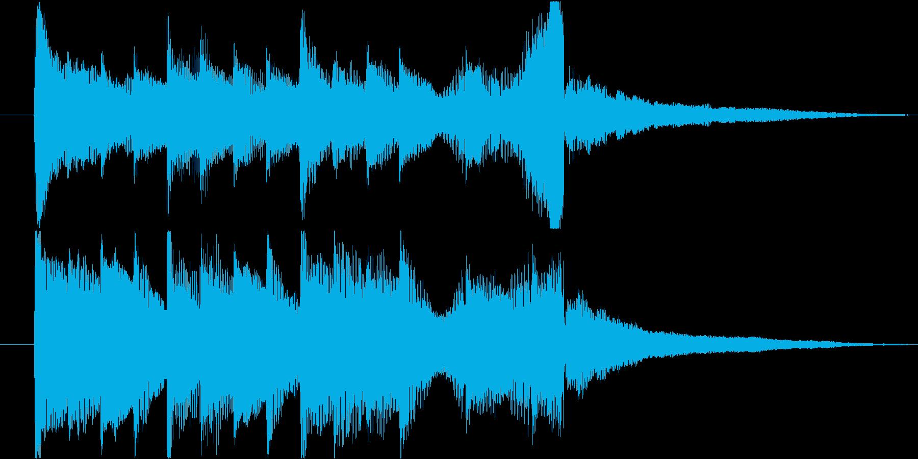 アコギとピアノで奏でるジングル#1の再生済みの波形
