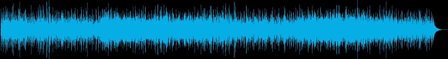 爽やかでポップなアコギファンクの再生済みの波形