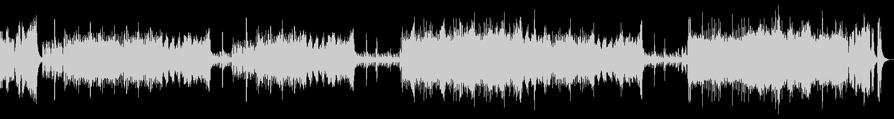 本格的オーケストラOPの未再生の波形