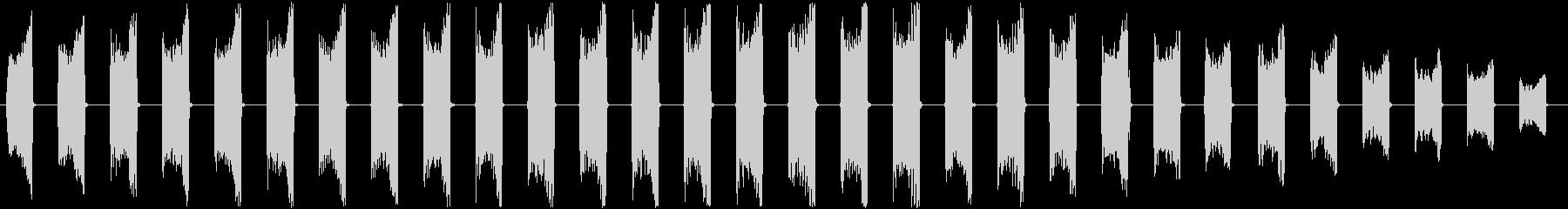【ロボット/機械/乗り物シャットダウン】の未再生の波形