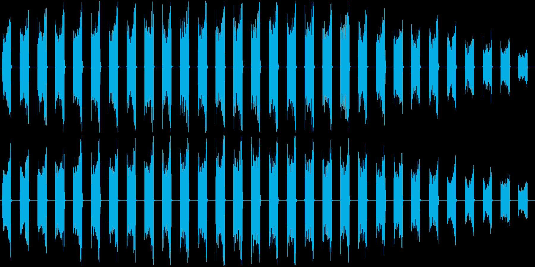 【ロボット/機械/乗り物シャットダウン】の再生済みの波形
