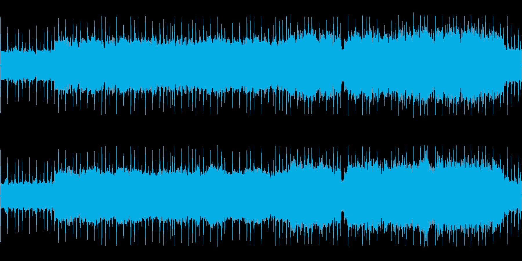 しっとり切ないチップチューンの再生済みの波形