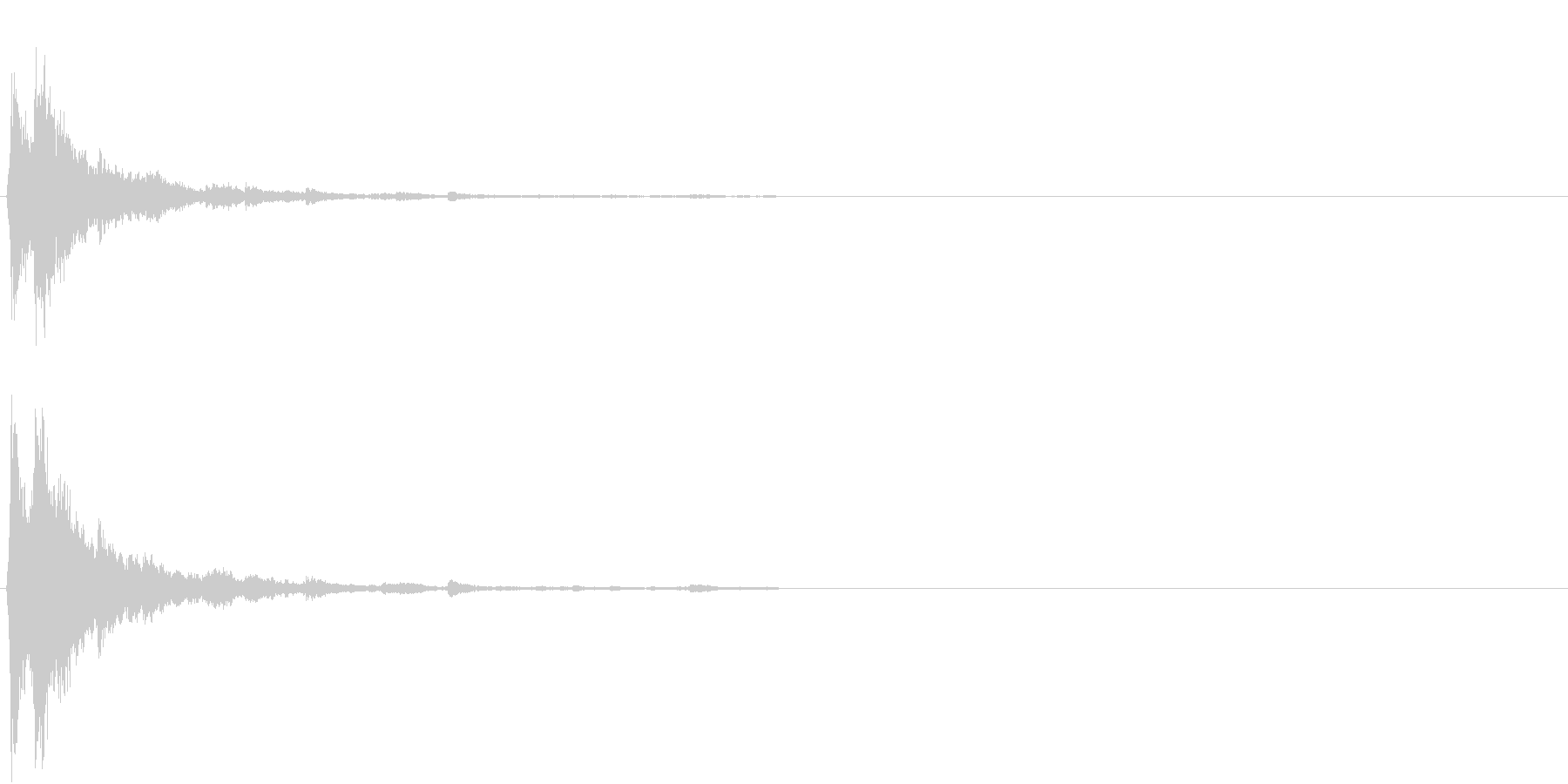 「シャシャーン」象徴的なソリベルの音2の未再生の波形