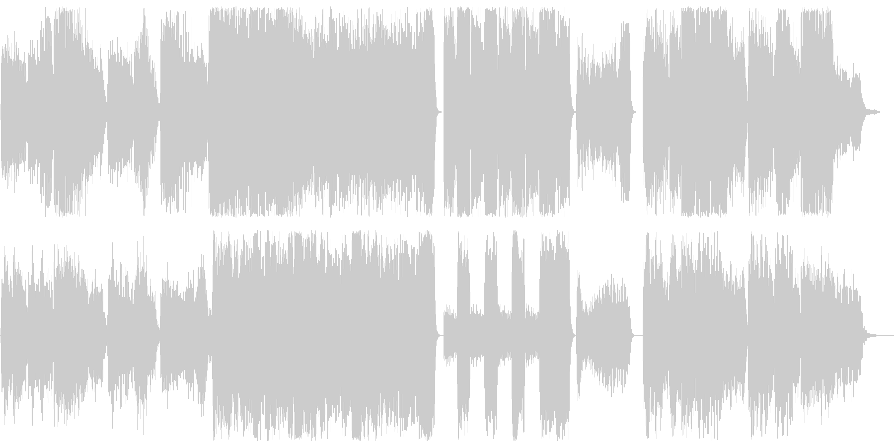 メローでメロディアスな合唱団風BGMの未再生の波形