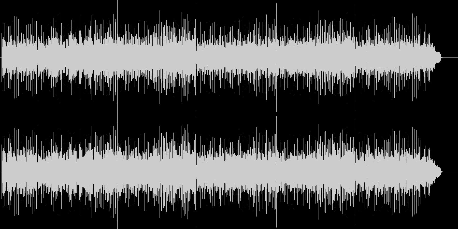 60'sポップス風ボサノヴァアンサンブルの未再生の波形