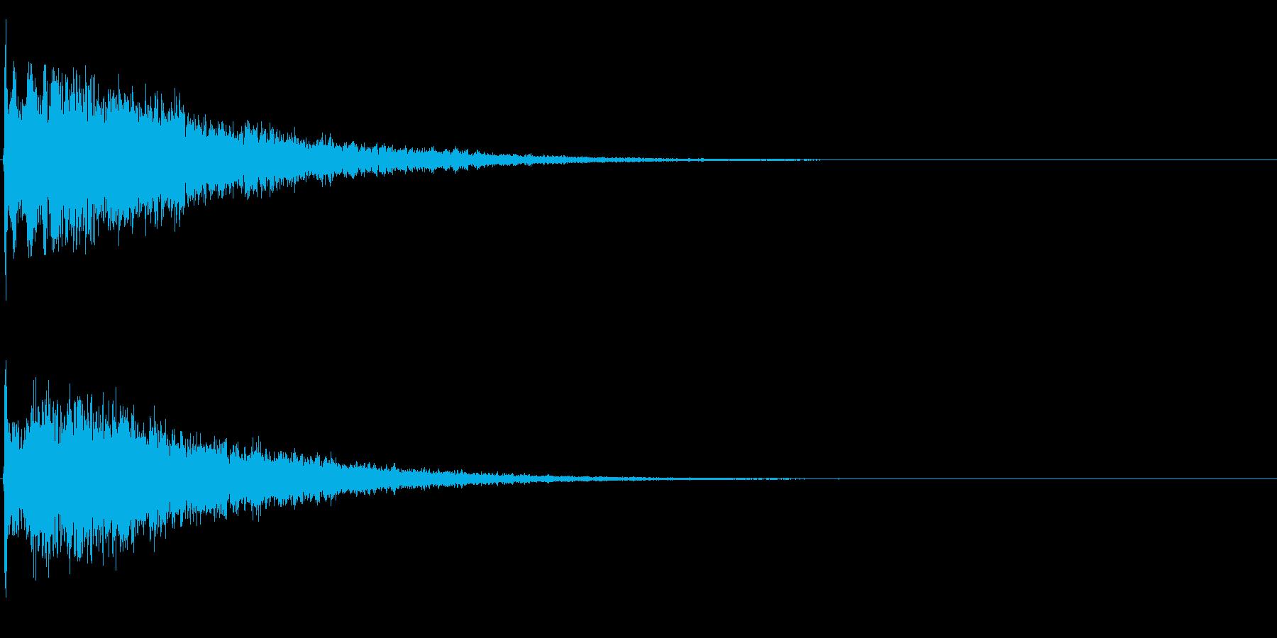 ゲームスタート、決定、ボタン音-126の再生済みの波形