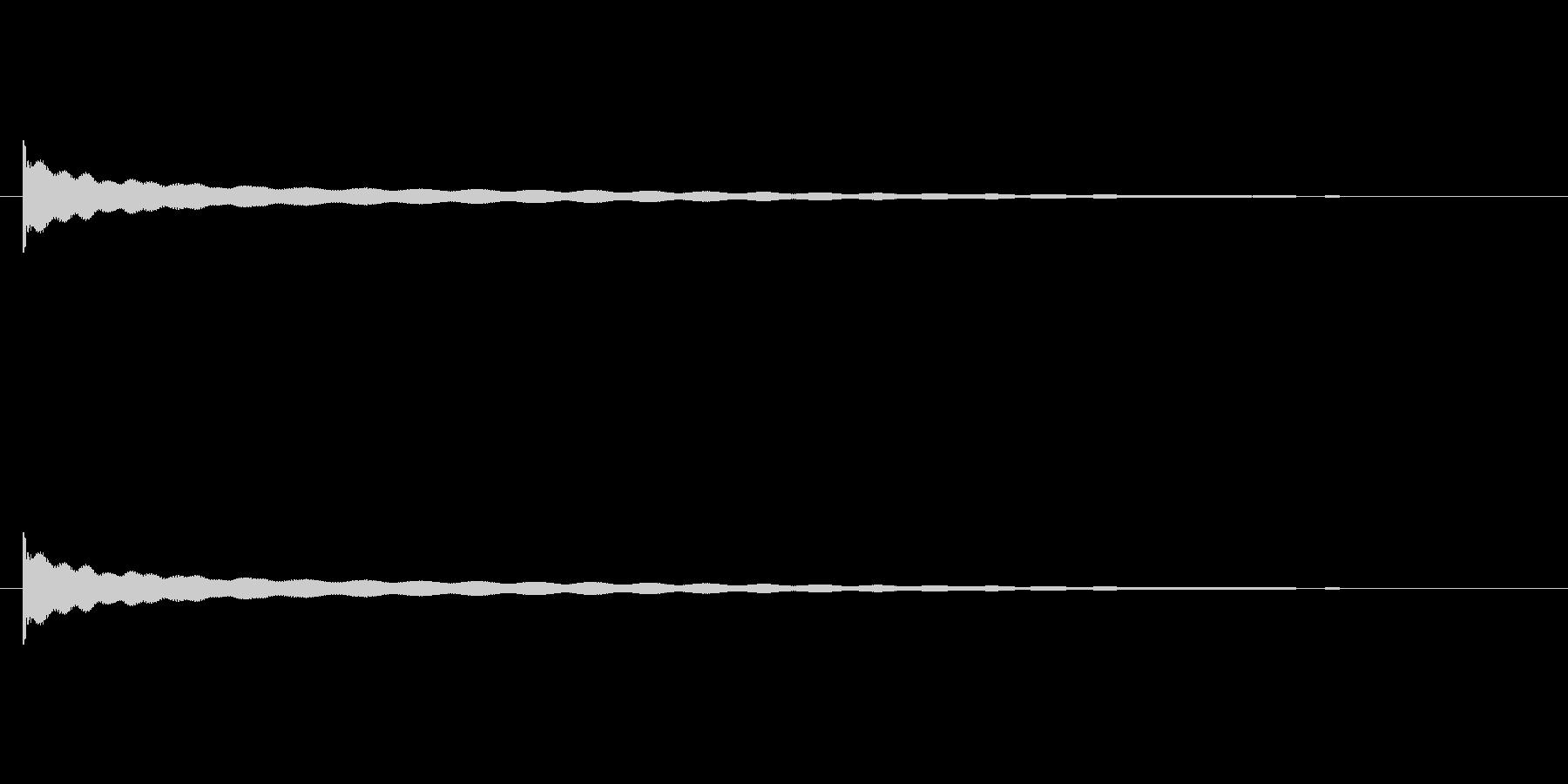 【チーン03-1】の未再生の波形