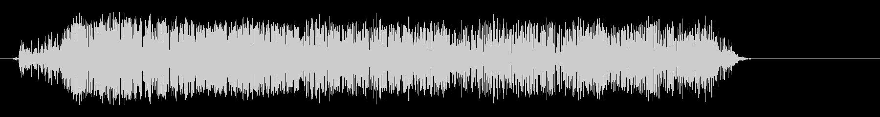 メェー(羊が鳴く音02)の未再生の波形