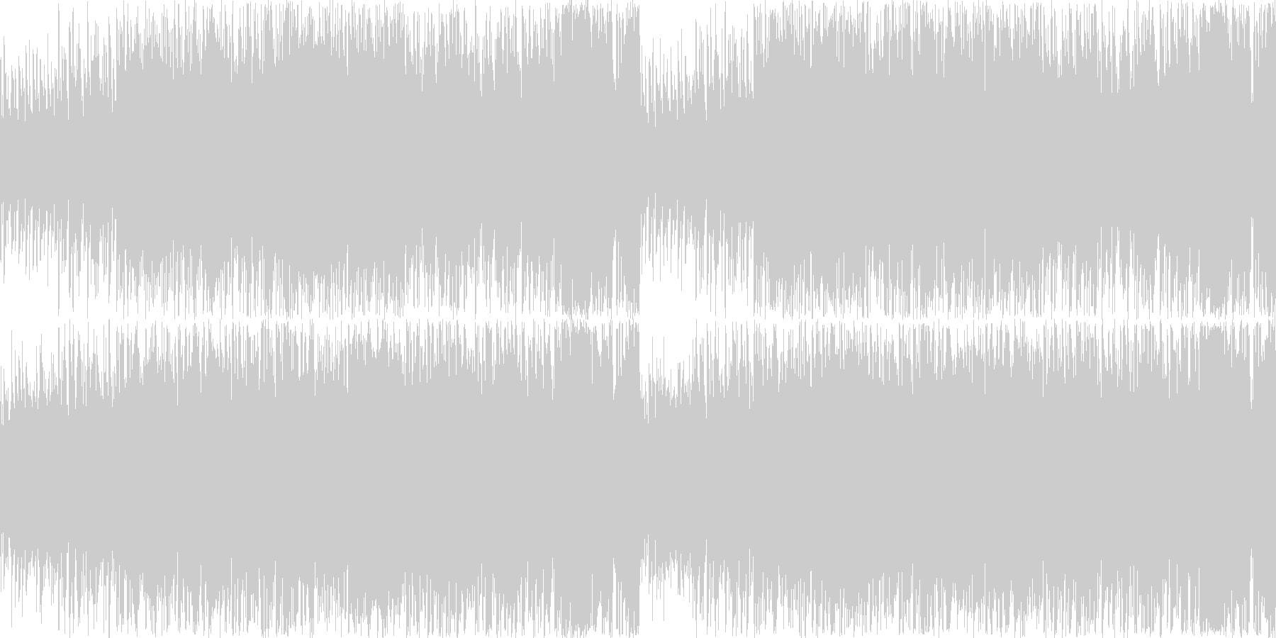 中華的な雰囲気のあるエレクトロ曲の未再生の波形