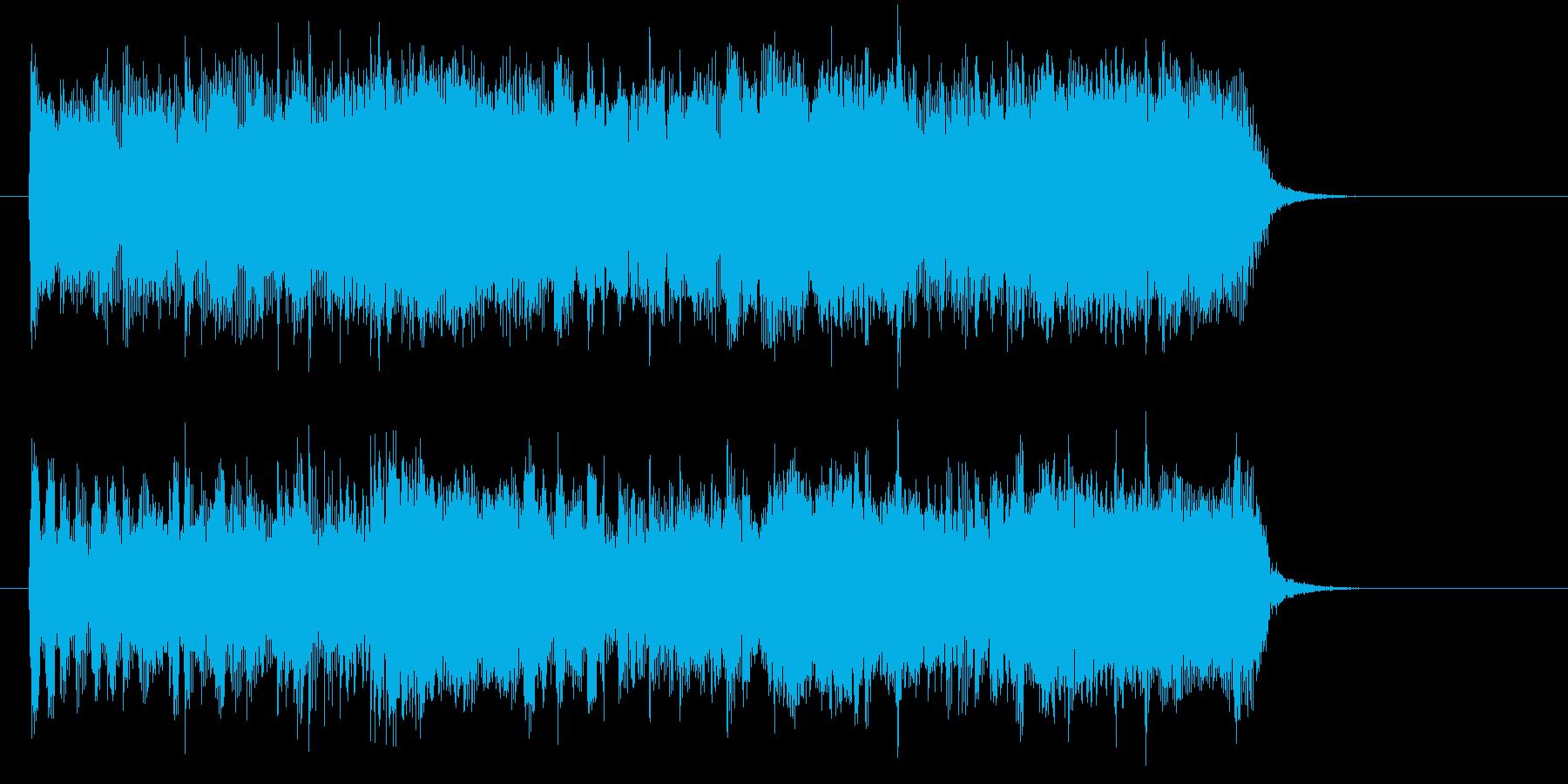 疾走感があり軽快でドラムが印象的なロックの再生済みの波形