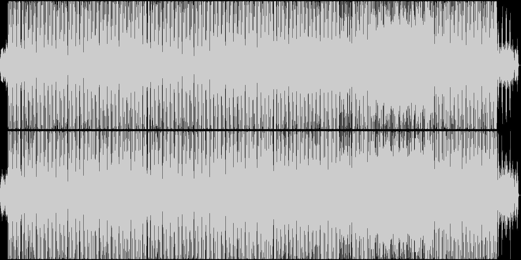 ハーモニカが印象的なダンスポップの未再生の波形