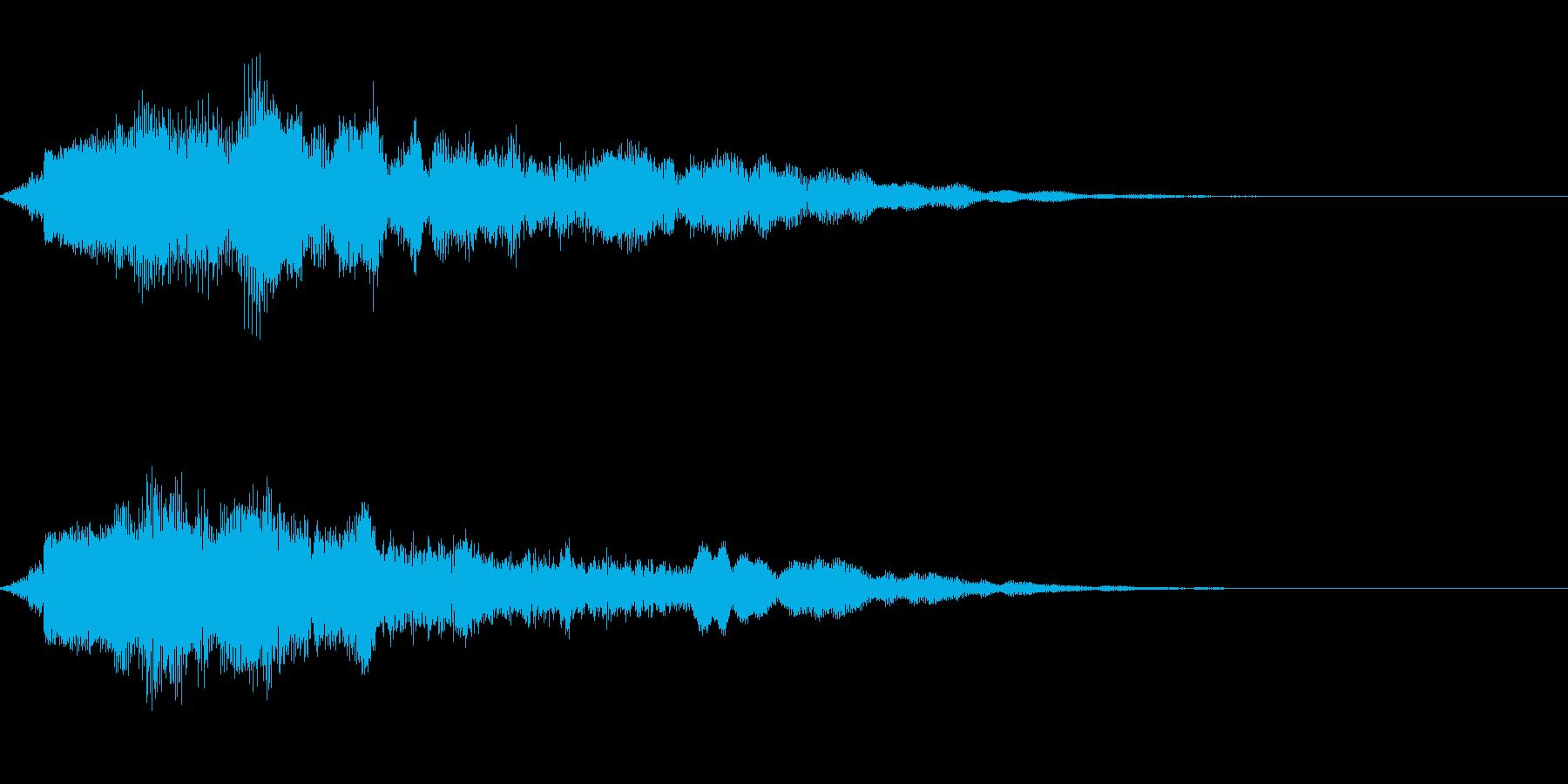 【ロゴ、ジングル】シンセ01の再生済みの波形
