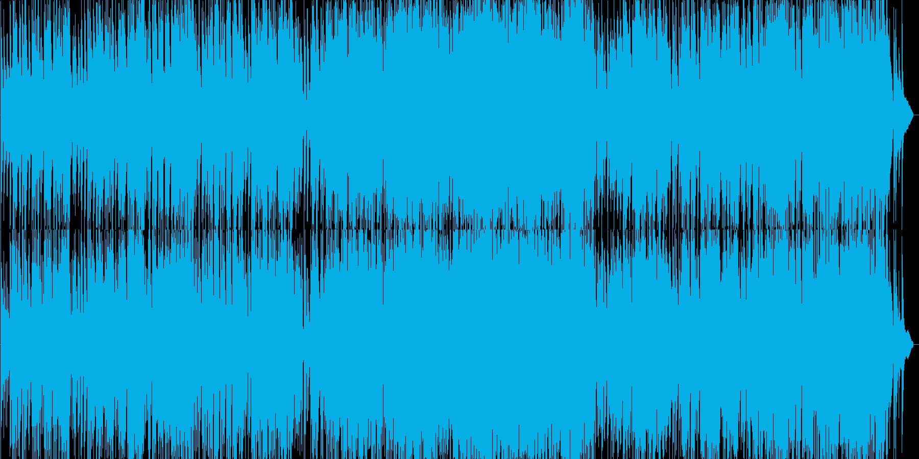 G線上のアリアのジャズピアノトリオの再生済みの波形