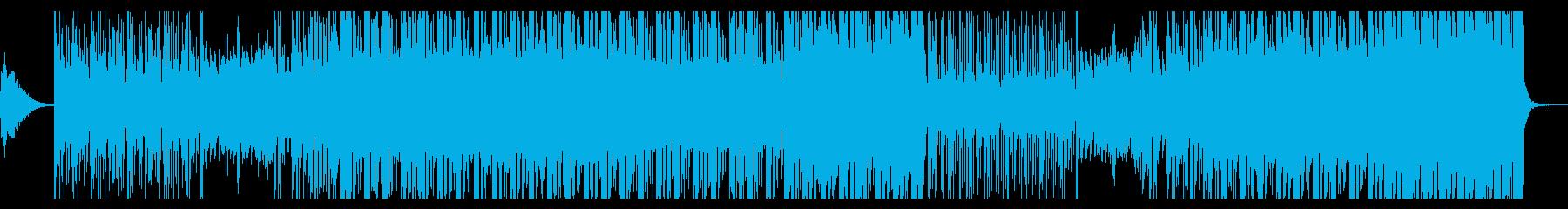 琴や和太鼓を使ったブレイクビーツの再生済みの波形