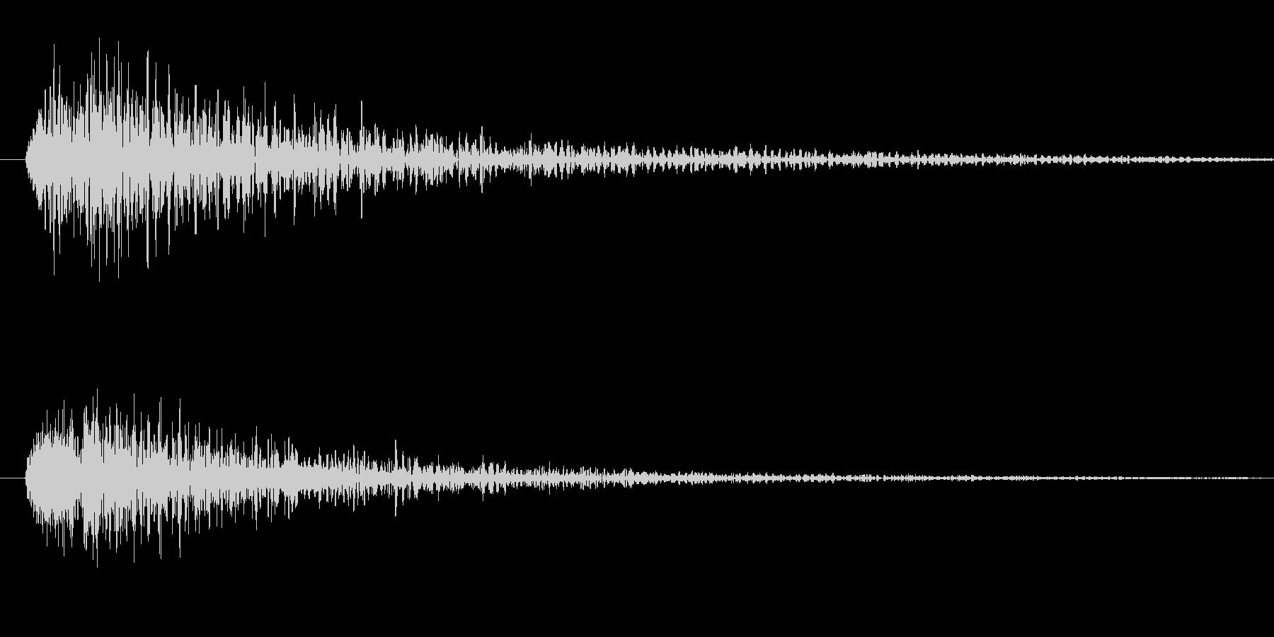 ブン(ライトセーバー効果音)の未再生の波形