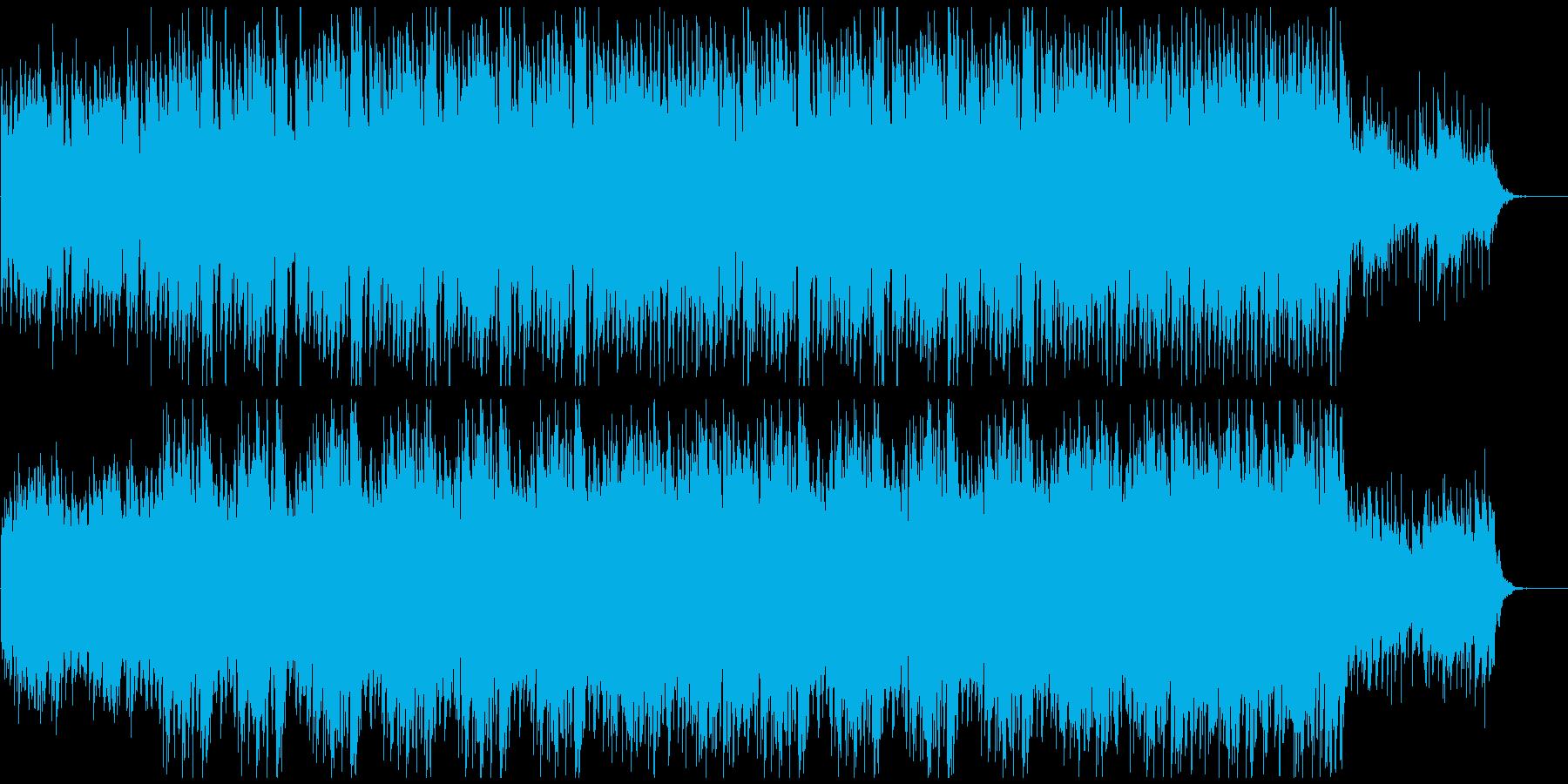 企業VPや映像に ピアノで感動爽やか壮大の再生済みの波形