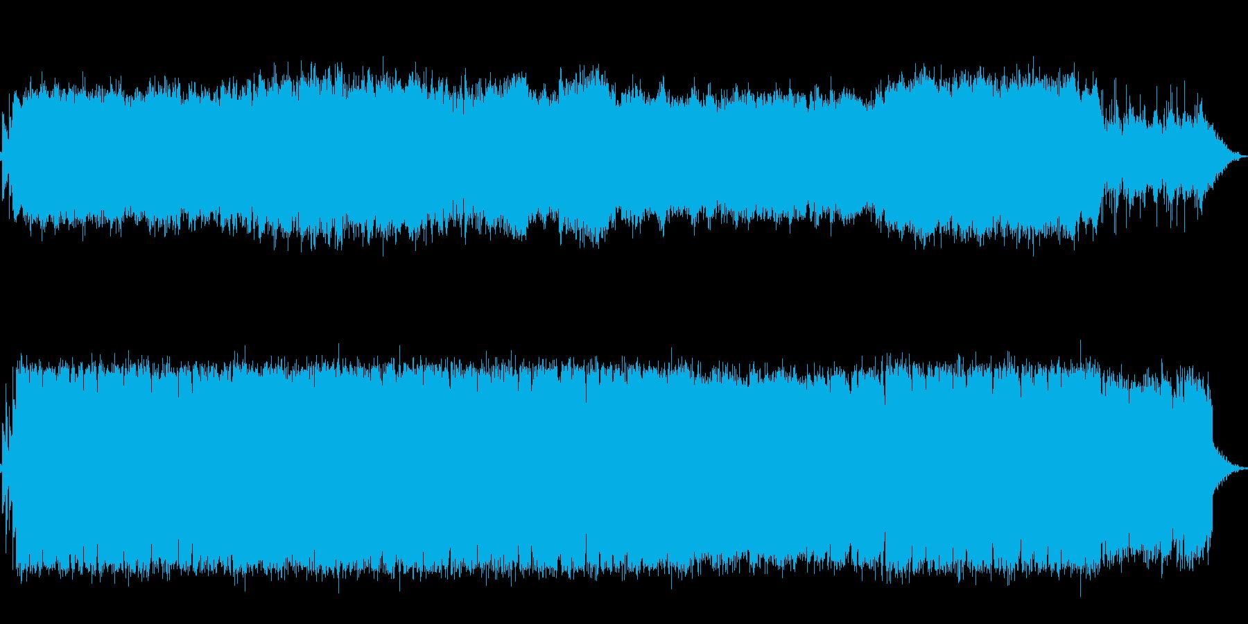 AMAZING GRACEのギター演奏曲の再生済みの波形