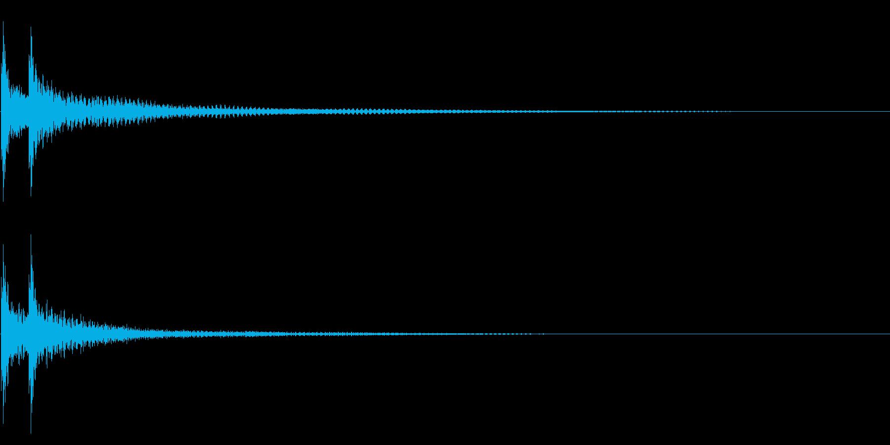 ティンパニー☆ドドン!1の再生済みの波形