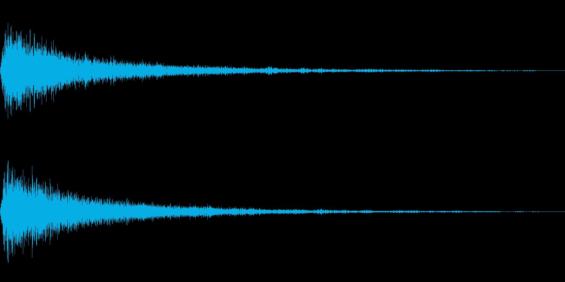 シャーン_ヒューン(飛び込み)の再生済みの波形