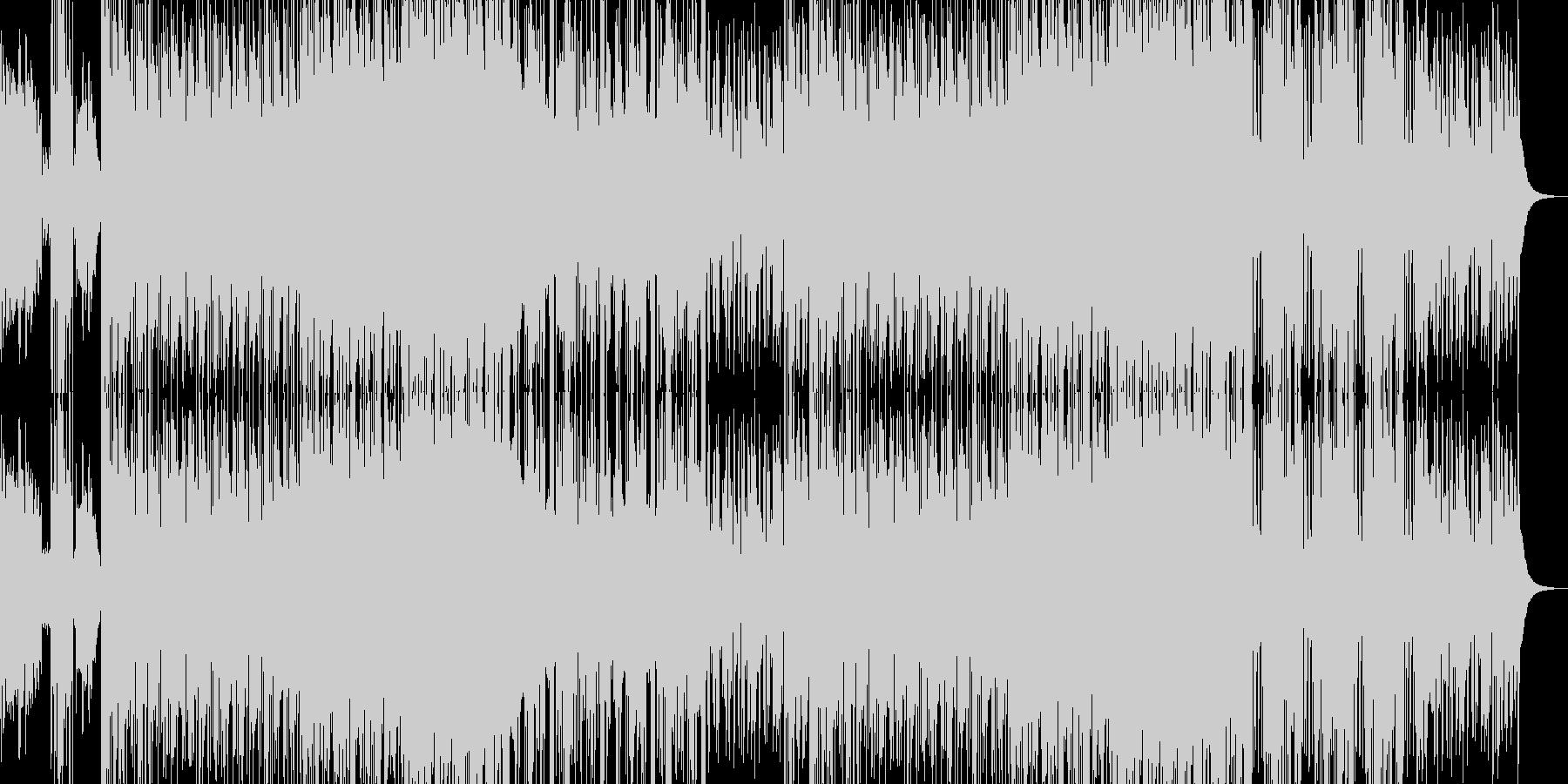 EDM DUBSTEPの未再生の波形