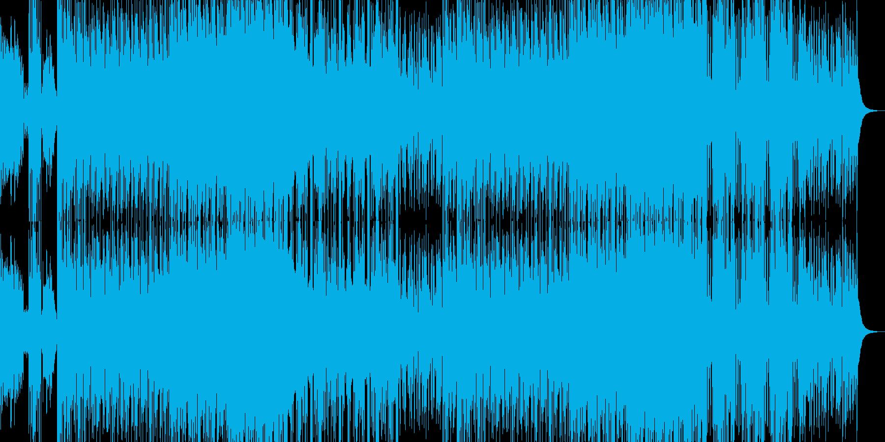 EDM DUBSTEPの再生済みの波形