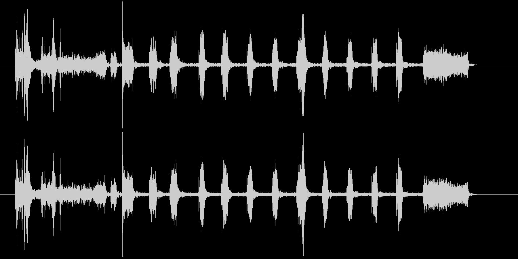 【生録音】家庭用プリンター01ショートの未再生の波形