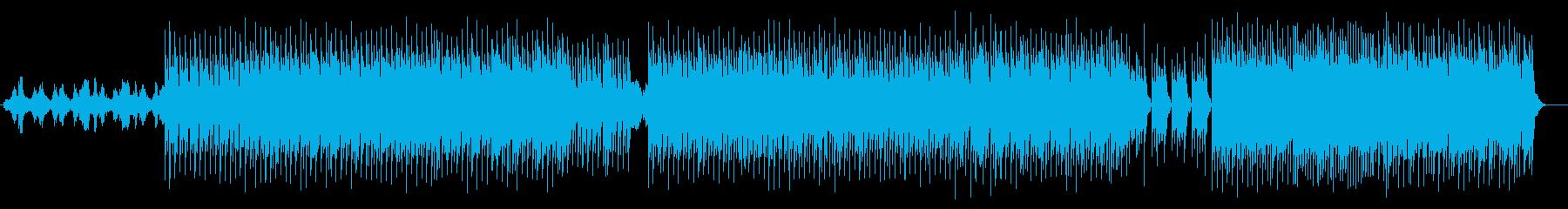 キャッチーなダンスミュージックの再生済みの波形