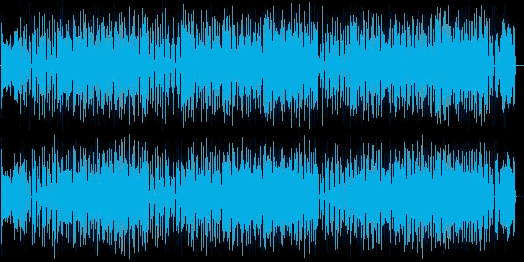 疾走感があり喪失感のある戦闘曲の再生済みの波形
