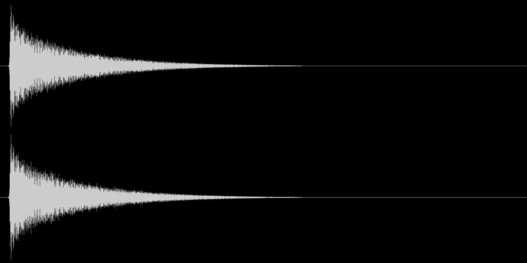 キラキラ…(システム音、星、暗い)の未再生の波形