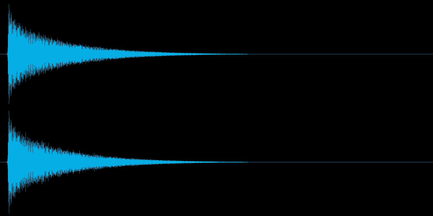 キラキラ…(システム音、星、暗い)の再生済みの波形
