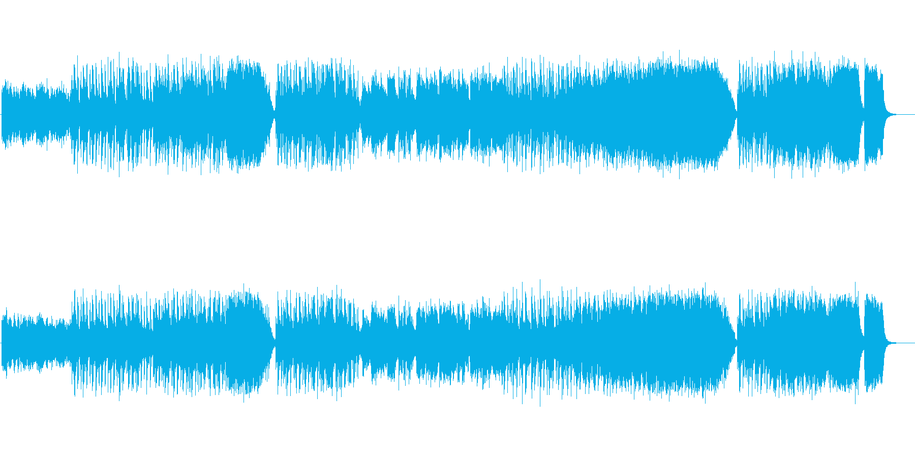 ワールドミュージック:オリエンタルの再生済みの波形