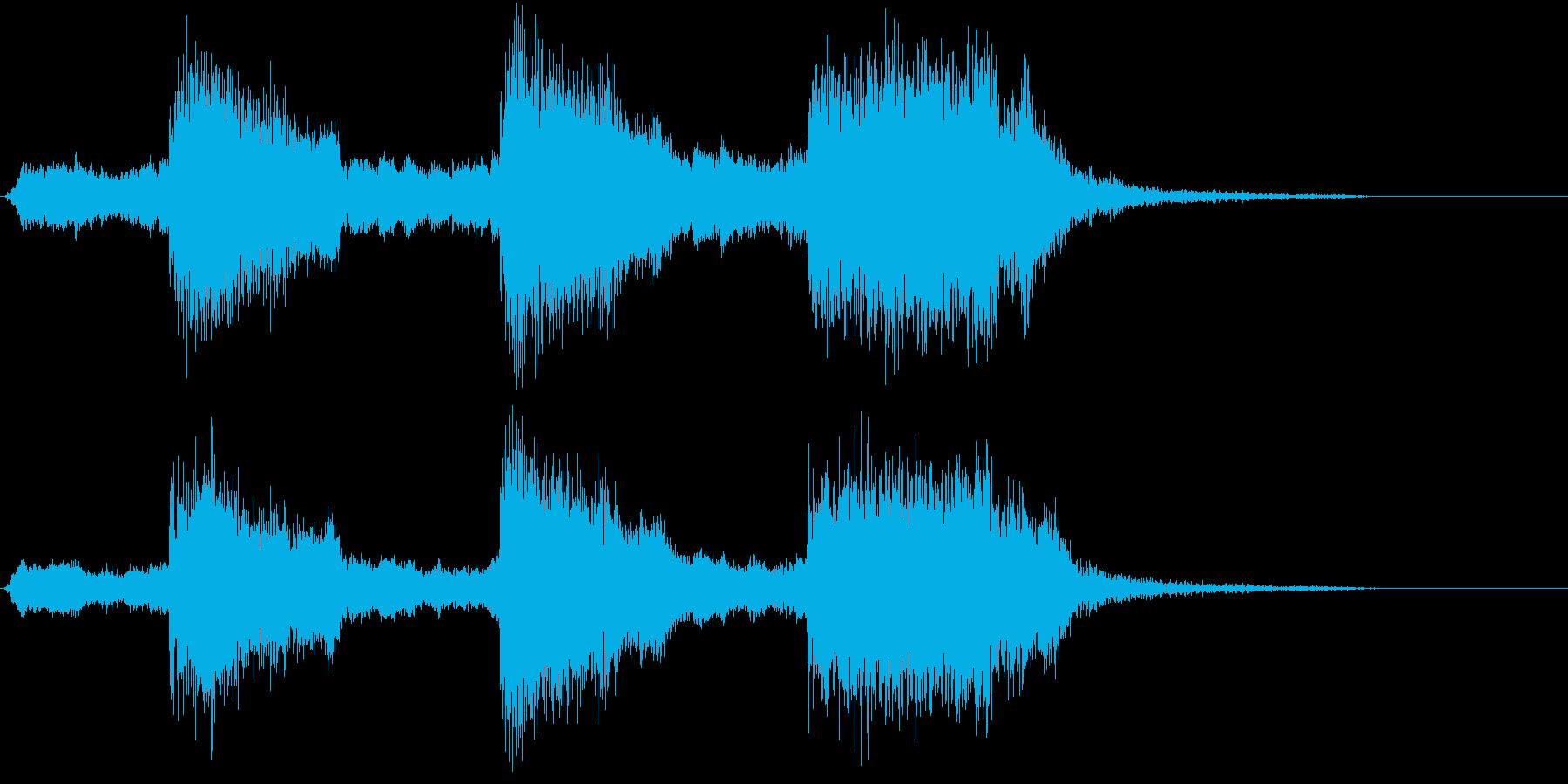 トムとジェリー風なアニメ音楽「驚き」6の再生済みの波形
