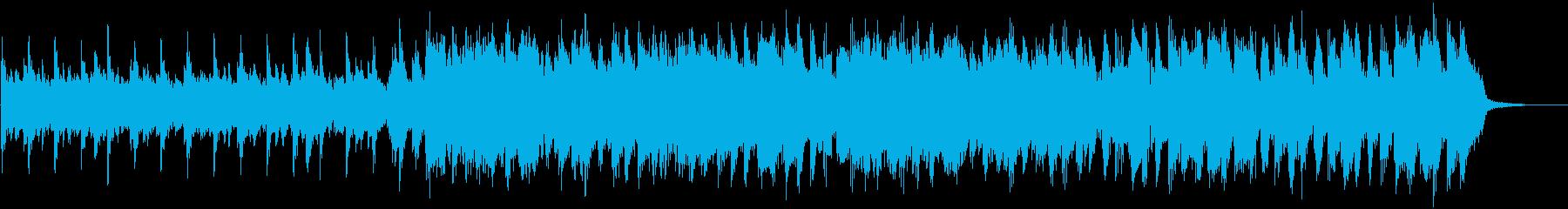 【30秒】カントリー&ウェスタンの楽曲の再生済みの波形