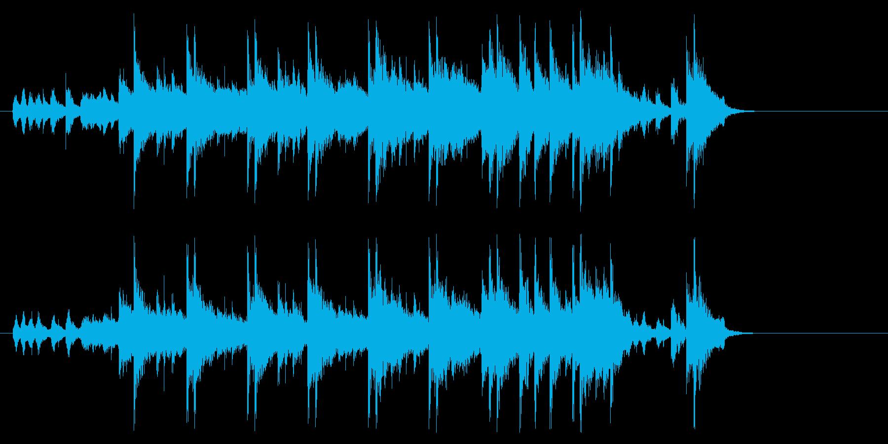まどろみアコースティック(イントロ~…)の再生済みの波形