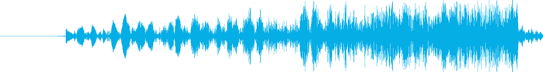 【ヒュン/ビュン/アプリ/効果音】の再生済みの波形