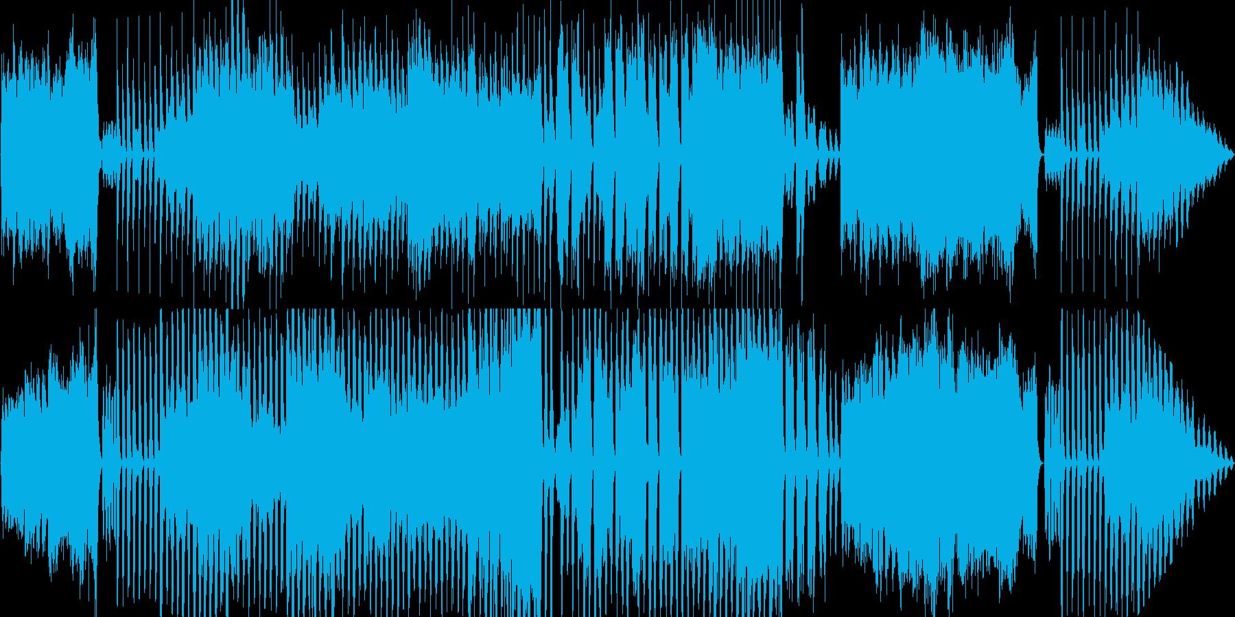 哀愁の漂うタンゴの再生済みの波形