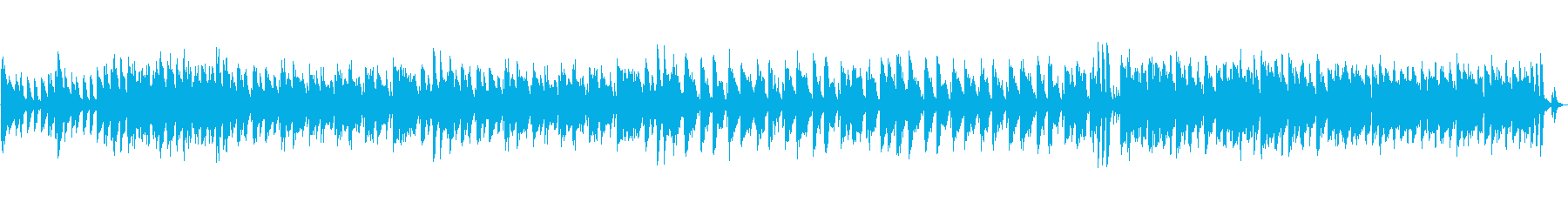 映像にピアノ元気明るい企業VPスキップの再生済みの波形