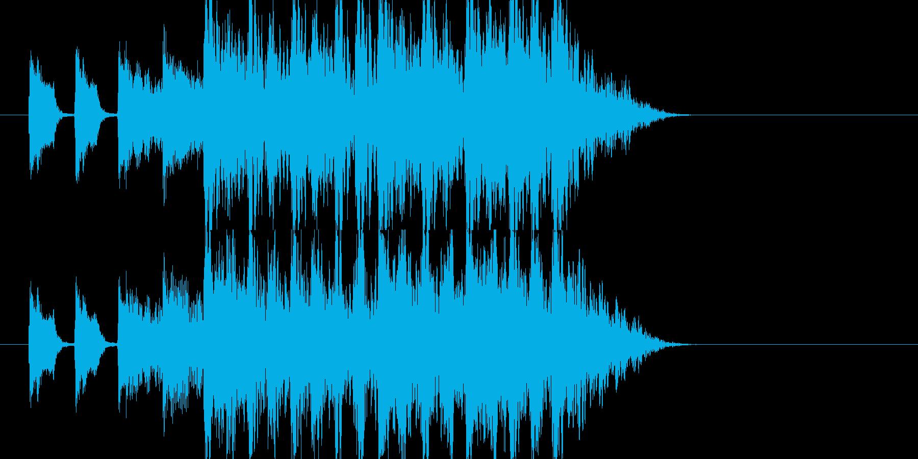 クイズ、子供、メルヘン、おちゃらけの再生済みの波形