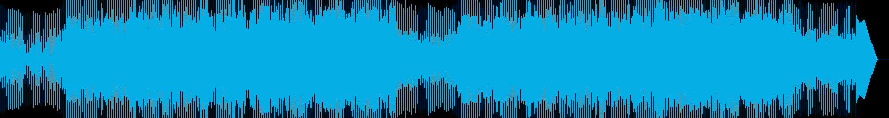 EDMポップで明るいクラブ系-50の再生済みの波形