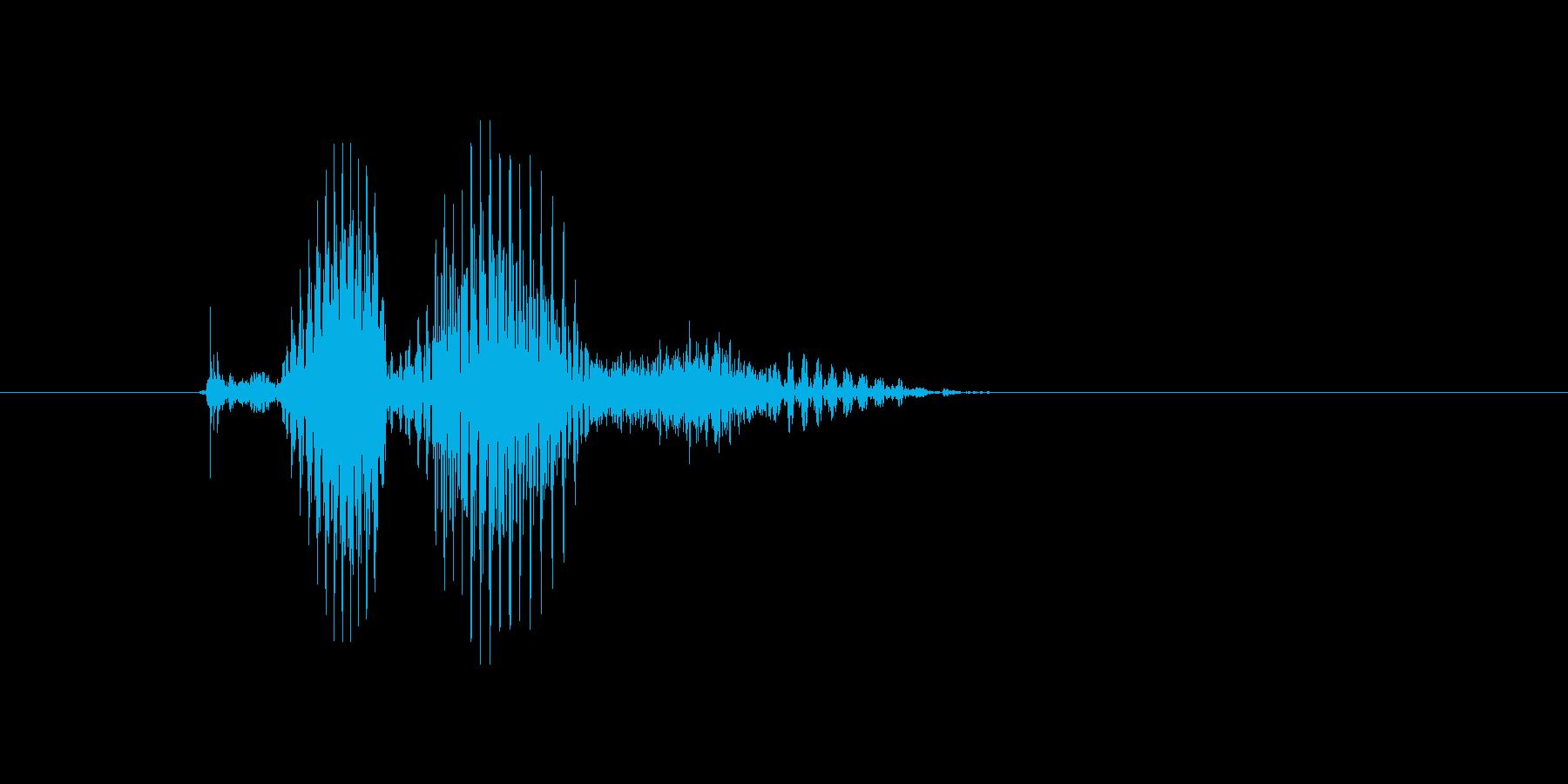 クロスの再生済みの波形