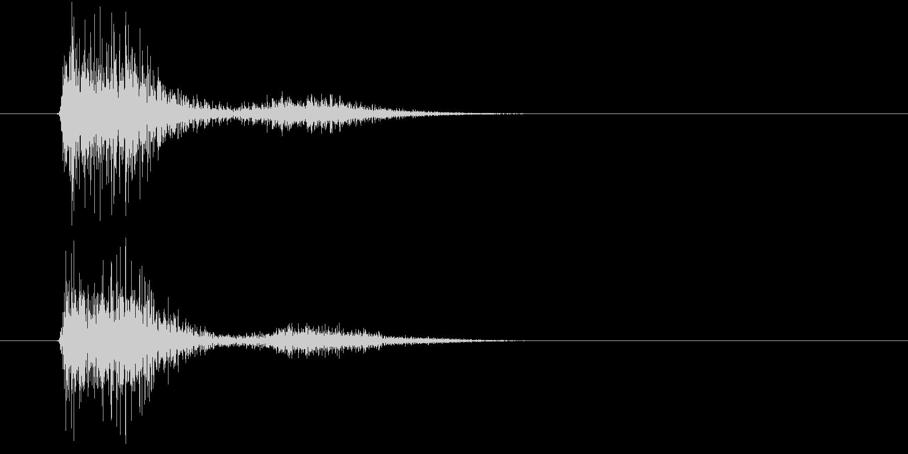 【SE 効果音】SF的な音9の未再生の波形