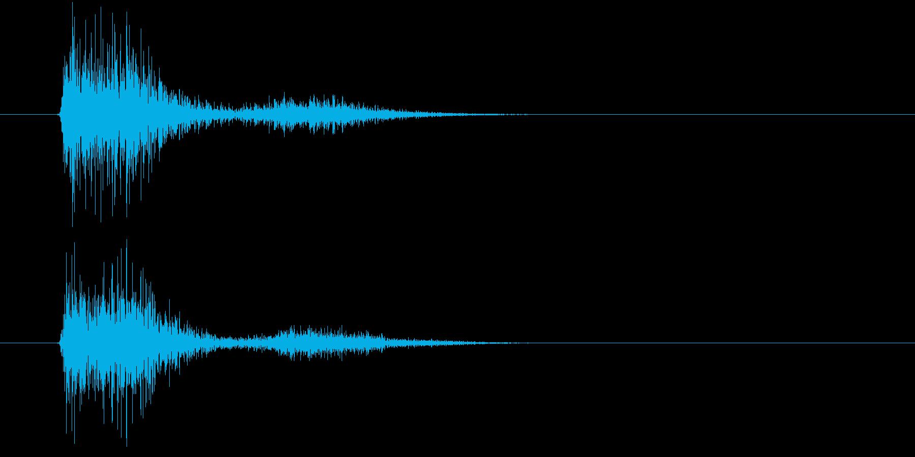 【SE 効果音】SF的な音9の再生済みの波形