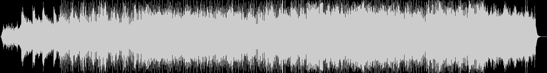 オープニングにぴったりなシンセアンセムの未再生の波形