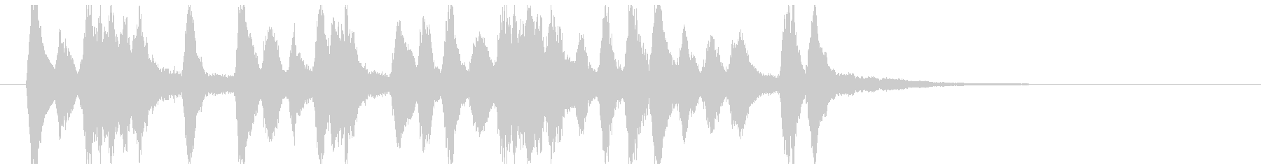 ストリングスを使用した高貴なイメージ音源の未再生の波形