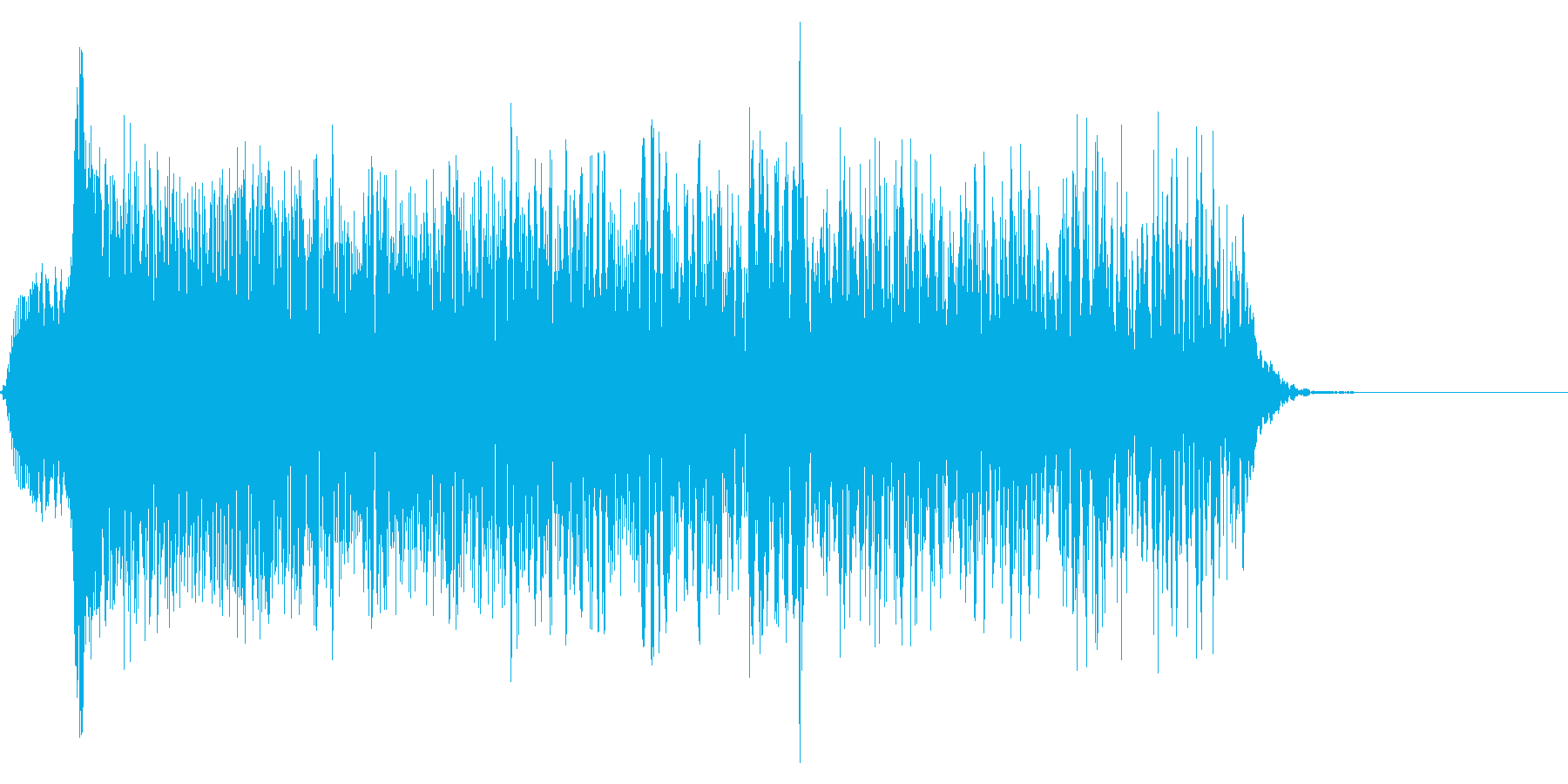 ゲーム掛け声男1叫び3の再生済みの波形