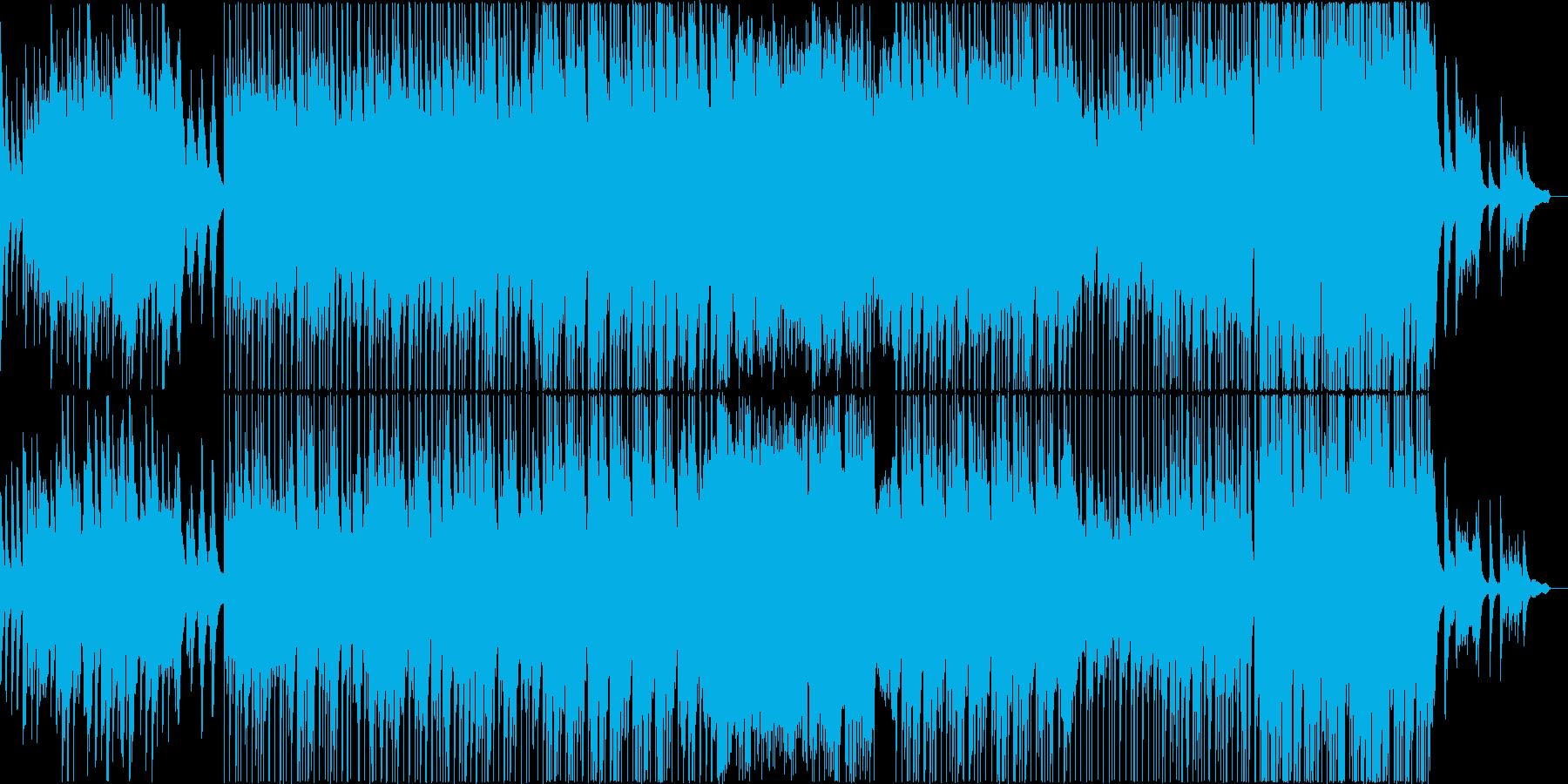 ゆっくりとした せつなめなピアノバラードの再生済みの波形